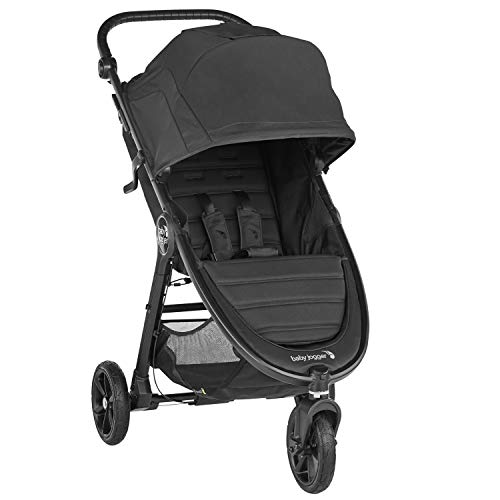 Baby Jogger City Mini GT2 All-Terrain Pushchair | Lightweight, Foldable Stroller | Jet (Black)