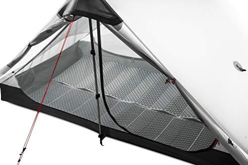 DS 3F UL Getriebe 2019 2 Kolbenstangenlosen Zelt 2 Person 15D Silnylon Zelt Oudoor Ultraleicht Camping Zelt 3 4 Saison Zelt