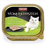 animonda Katze Vom Feinsten Adult mit Pute, Hühnchenbrust + Kräuter 100g Größe 16 x 100g