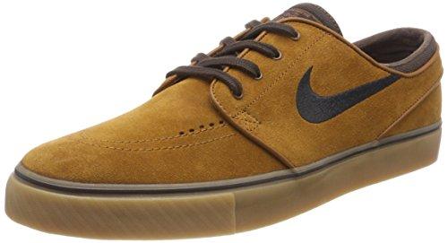 Nike Zoom Stefan Janoski, Zapatillas de Deporte Hombre, (Hazelnut/Black/Baroque Brown), 38.5 EU