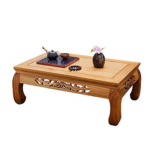 Tables Tatami Basses Baie Vitrée Bureau en Bois Massif Petit Bureau De Fosse Ancienne Orme Chinois Simple Salon Basse Moderne Basses