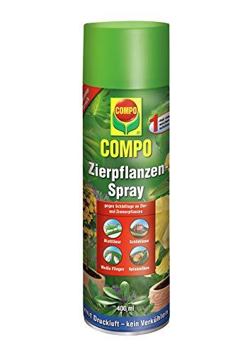 COMPO Zierpflanzen-Spray, Bekämpfung von Schädlingen an Zierpflanzen