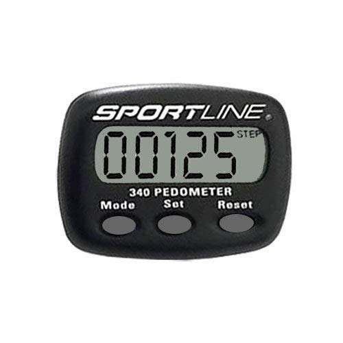 Sportline 340 Multifunction Pedometer - 1/Each
