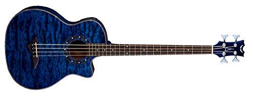 Dean Guitars Exotica TBL - Bajo electroacústico (incluye 4