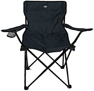 Sillas plegables con posavasos Pack de 2 sillas camping con reposabrazos