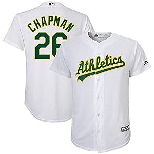 Matt Chapman Oakland Athletics Youth 8-20 White Home Cool Base Replica Player Jersey