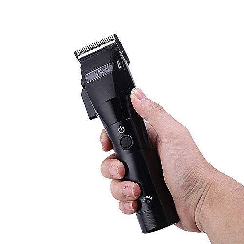Electric Oil Head Tondeuse Mannen Wireless Charging Roestvrijstalen Mes Head Professional Hair Clip En Trimmer Electric Clipper Blade Head Infinite Adjustment 0.1-3Mm Low Noise