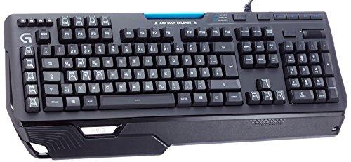 Logitech G910 Orion Spark - mechanische Gaming-Tastatur (mit RGB-Beleuchtung und Neun programmierbare G-Tasten) schwarz