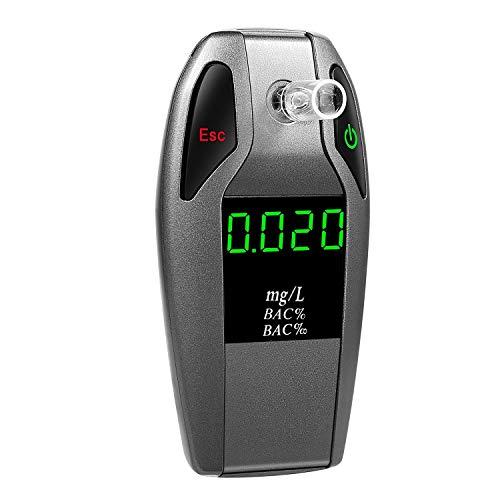 BIGMALL Alcoholímetro Sensor De Celda De Combustible Probad