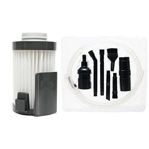 UpStart Battery Ersatz Eureka 437-aze Vakuum Staub Tasse Filter mit 7-teilig Micro Vakuum Befestigung-Kit–Kompatibel Eureka dcf-10, dcf-14Filter