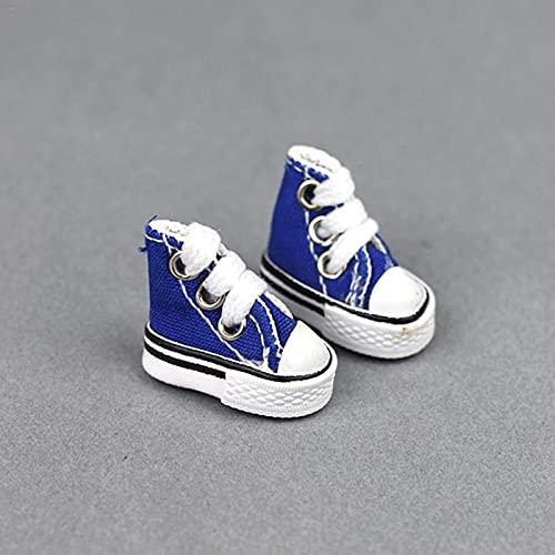 PIGMAMA Mini Chaussures à Doigts, Mini Baskets en Toile pour Enfants/Adultes - Finger Skateboard Finger Dance Games Mini Skate Shoes Fingerboard Tennis Shoe feasible