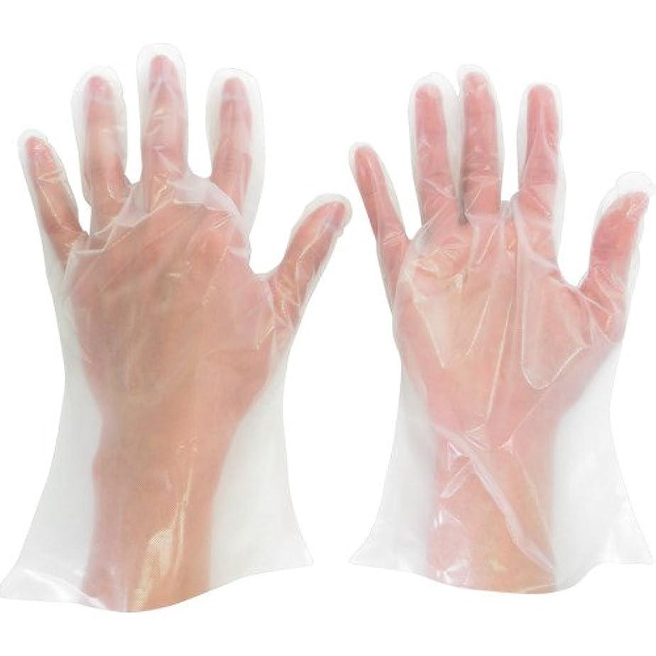 とても花火羨望ミドリ安全 ポリエチレン使い捨て手袋 厚手 外エンボス 200枚入 L VERTE565NL