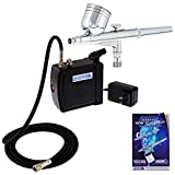 Master Airbrush Multi-Purpose Airbrushing System Kit with Portable...