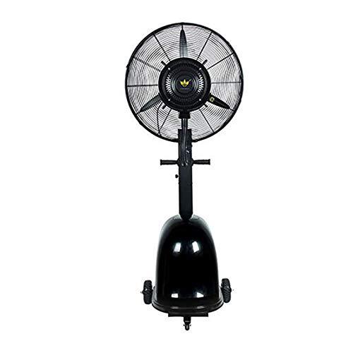 """PIGE 260W 26""""Ventilateur De Refroidissement De Refroidissement Et Ventilateur De Plancher Industriel Hydratant Ventilateur Électrique Commercial Puissant Et Puissant (Couleur : Noir)"""