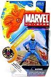 Marvel Universe Human Torch (variante azul claro) figura 4 pulgadas