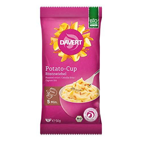 Davert - Potato-Cup Röstzwiebel - 54 g - 8er Pack