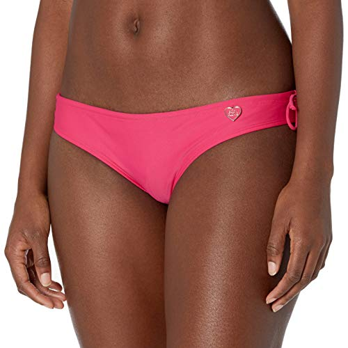 Body Glove Damen Smoothies Alexa Cheeky Coverage Bikini Bottom Swimsuit Bikinihose, dahlie, X-Large