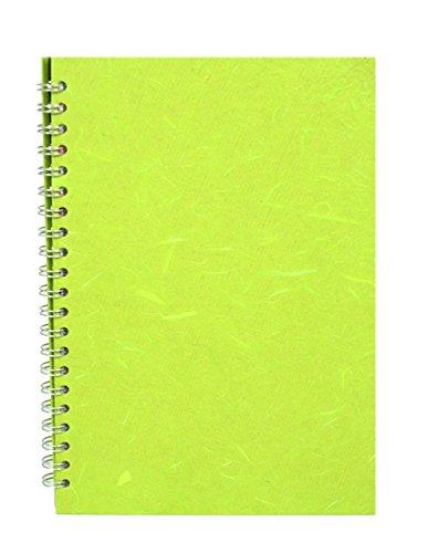 Pink Pig Zeichenblock, weißes Papier 150g/m², 70 Seiten (35Blatt), Zitronengelb
