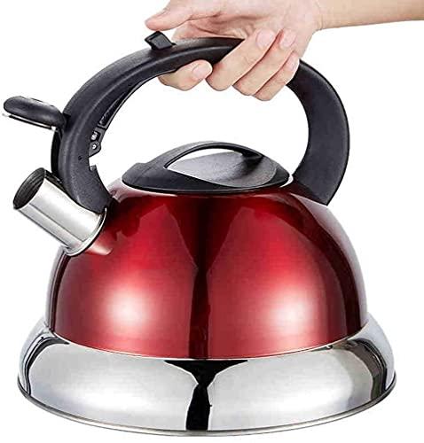 Cocina Hogar Cocina de inducción de Acero Inoxidable Silbato Cocina de Agua a Gas Agua hirviendo Gas