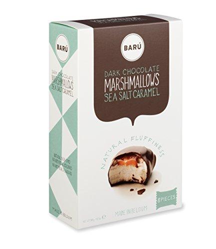 Barú Seasalt Caramel Marshmallows Geschenkbox, 3er Pack (3 x 120 g)