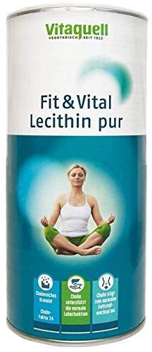 Vitaquell Fit & Vital Lecithin pur, 250 g Nahrungsergänzung