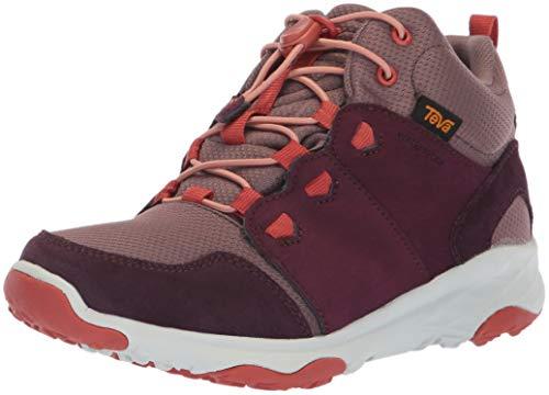 Teva Y Arrowood 2 Mid WP, Chaussures de Randonnée Hautes Mixte, Violet (Plum Plum), 36 EU