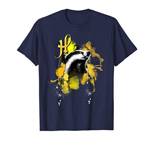 Harry Potter Urban Elegance Hufflepuff Badger T-Shirt