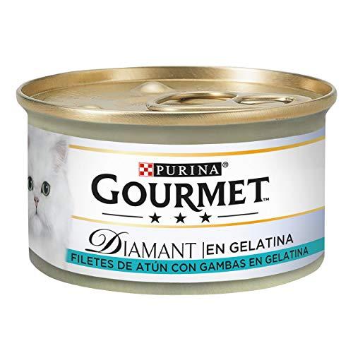 Purina Gourmet Diamant Delicias en Gelatina comida para gatos con Atun 24 x 85 g 🔥