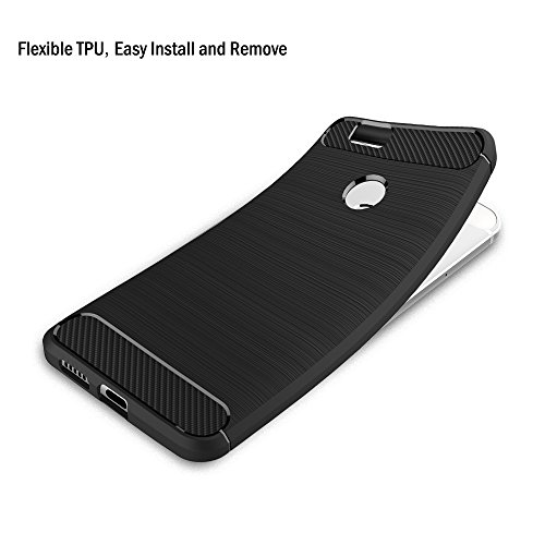 AICEK Huawei Nova Hülle, Schwarz Silikon Handyhülle für Huawei Nova Schutzhülle Karbon Optik Soft Case (5,0 Zoll) - 3