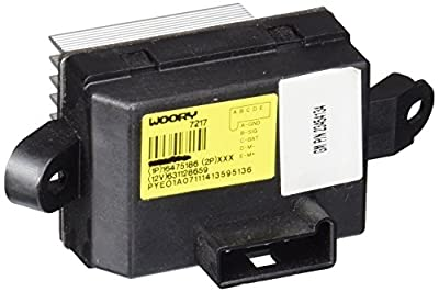 ACDelco 15-81820 GM Original Equipment Auxiliary Heating and Air Conditioning Blower Motor Resistor