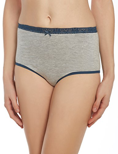 Style Collection Panty Brief, 3 Pack, Gray - Petite