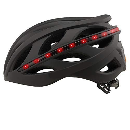 GONGMICF Casco de Bicicleta Casco Inteligente con certificación CE Cascos de Bicicleta para Hombres y Mujeres con Control Remoto inalámbrico por Bluetooth Casco de Bicicleta de montaña