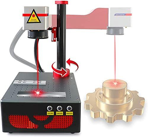 Fiber Laser Marking Machine 150x150mm Fiber Laser Marker for Metal 20W Laser Engraving Machine for Metal,Sliver,PVC,ABS,Acrylic,Gold