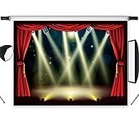 LB Hallywood写真バックドロップビニールカスタマイズされたパーティー卒業式セレモニー写真背景スタジオプロップ HW04