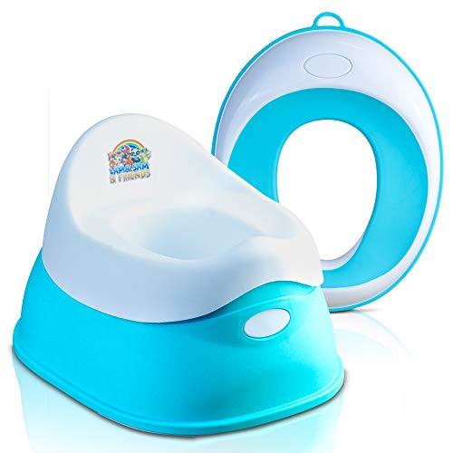 Lama Sam & Friends – 2 pentole per bambini – Vasino da ca. 18 mesi fino a ca. 3 anni, funzione antiscivolo.