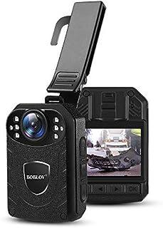 OBLOV KJ21 Body Camera 1296 P Body Cam voor Security Ondersteuning Geheugen uitbreiden Max128G Politie Lichaam Draagbare C...
