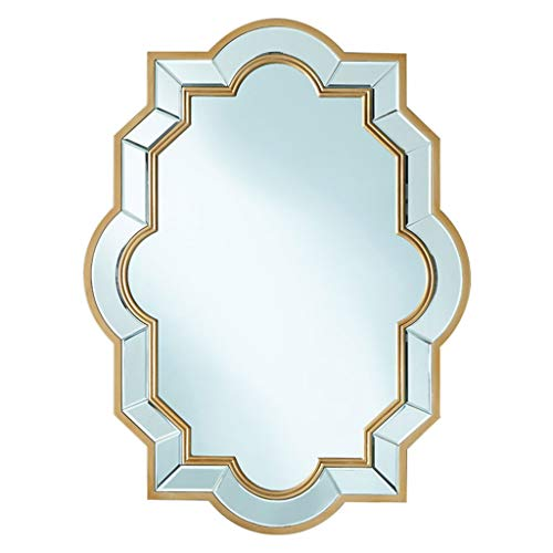 Espejos Grandes De Pared para Sala De Estar, Estilo Vintage Espejo De...