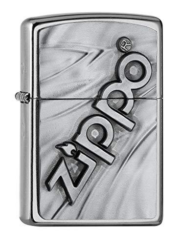 Zippo The Logo 2020 Accendino in ottone, design individuale, dimensioni tascabili