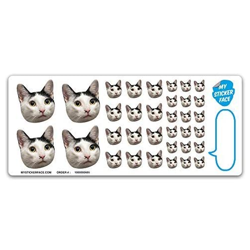 Custom Face Stickers, Pet Stickers, Stickers of Your Face, Elite Sampler Sheet - Custom Gift |