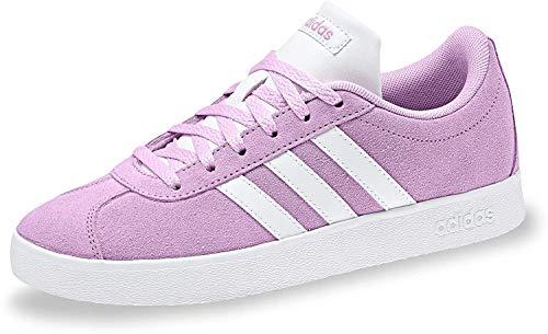 Adidas Vl Court 2.0 K, Zapatillas de deporte Unisex niños, Morado (Lilcla/Ftwbla/Ftwbla 000), 36 EU