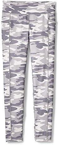 Eddie Bauer Girls Leggings Stretch Yoga Pants Phone Pocket Grey X Small product image