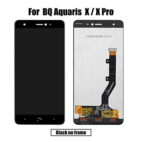 Para bq Aquaris X/X Pro LCD&Pantalla táctil Digitalizador de pantalla de módulo de pantalla Reparación Accesorios Piezas