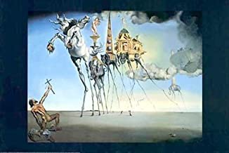 Temptation of St. Anthony by Salvador Dali - 24 x 36 inches - Fine Art Print / Poster