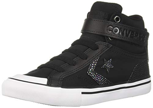 Converse Pro Blaze Strap Hi 663604C Junior-Sneaker Black/White Gr. 38 (US 5.5)
