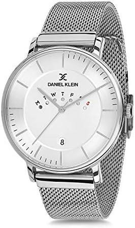Daniel Klein Men s Wrist Watch DK11736 1 Milanese Mesh Watch Band 42mm Analog Watch Japanese product image
