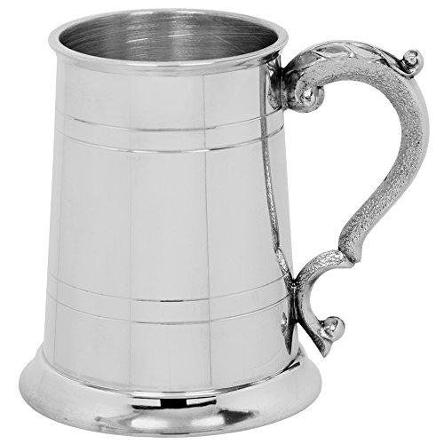 English Pewter Company 1 Pint gerader georgischer Griff Zinn-Krug [EP003]