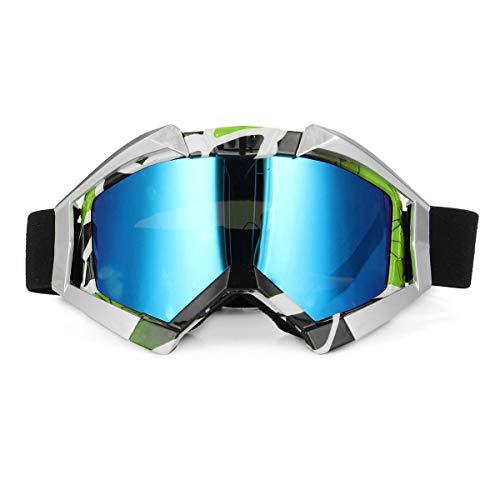 Motorfiets Sport Skiën Goggles Sneeuw Sport Bril Snowboard Snowmobile Racing Oogkleding Motorfiets Winddichte Goggles Goggles Motorbike 1