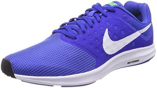 Nike Men's Downshifter 7 Mega Blue Running Shoes-8 UK (42.5 EU) (9 US) (852459-402)