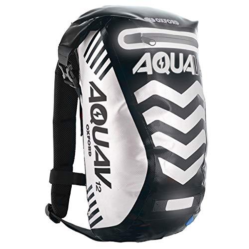 Oxford Aqua V 12 Extreme Visibility Waterproof Reflective Backpack - Black
