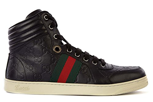 Gucci Men's Shoes high top Leather